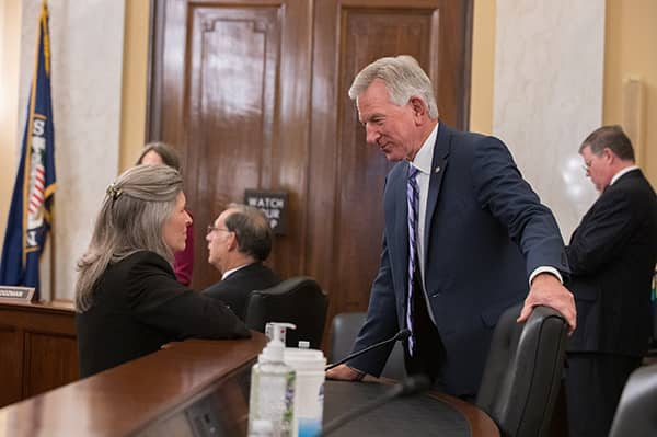 armed services committee tuberville